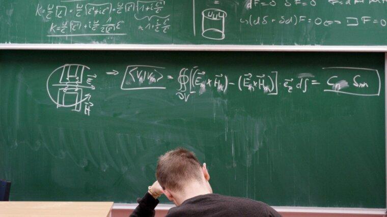 Doktorand in einem Seminar